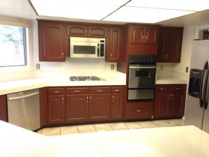 Kitchen after Cabinet Refacing