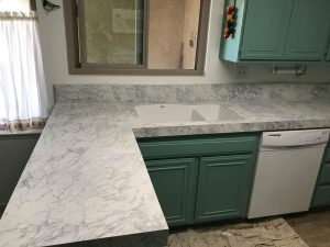 kitchen counter overlays