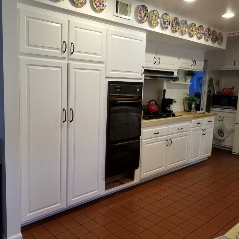Before Cabinet Refacing