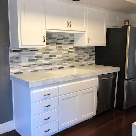 kitchen remodeling cabinets after refacing